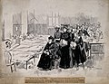 Her Majesty Queen Victoria and entourage visiting soldiers w Wellcome V0015646.jpg