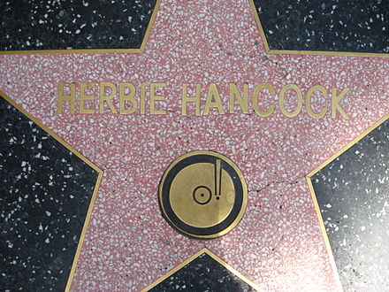 Herbie Hancock star on Hollywood Walk of Fame Herbie Hancock Star at Hollywood Walk of Fame.jpg
