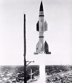 Hermes (missile program) - The first Hermes A-1 test rocket, fired at White Sands Proving Ground