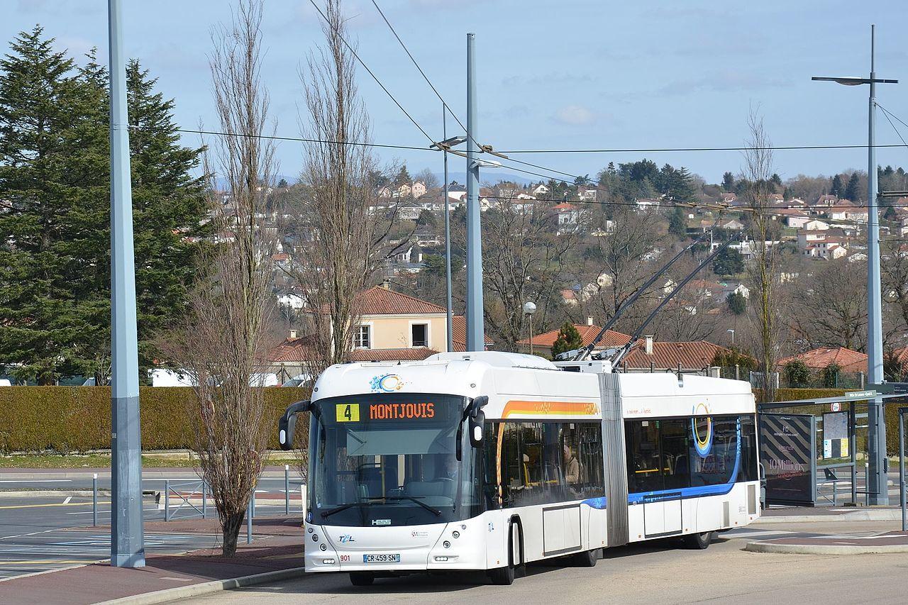 File hess swisstrolley4 n 901 tcl p le saint - Ligne bus limoges ...
