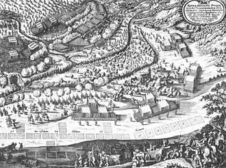 1633 in Sweden - Hessisch Oldendorf Schlacht Gemälde