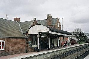 Hinckley railway station - Hinckley station building