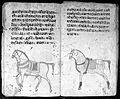 Hindi Manuscript 191, fols. 24 verso, 25 rec Wellcome L0024217.jpg