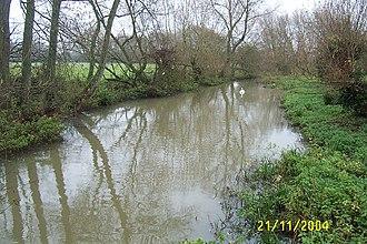 Hinksey Stream - The stream at North Hinksey.