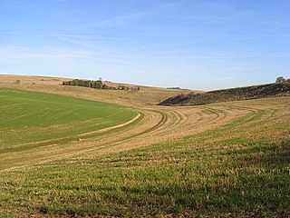Hippenscombe Human settlement in England