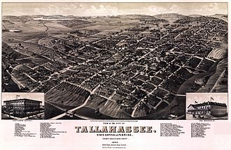 Tallahassee, Florida - Tallahassee in 1885