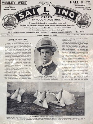Sydney Flying Squadron - Historical mark of Sydney Squadron club