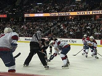 Edmonton Oil Kings - The Oil Kings face the Calgary Hitmen in the WHL's Battle of Alberta.