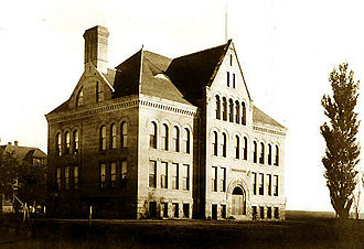 Hodgin Hall - The Administration Building in 1904, prior to remodeling