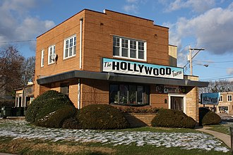 Hollywood, Montgomery County, Pennsylvania - Hollywood Tavern at the corner of Huntingdon Pike and Gibson Avenue