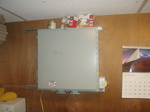 Hot box (appliance) - Door Closed.