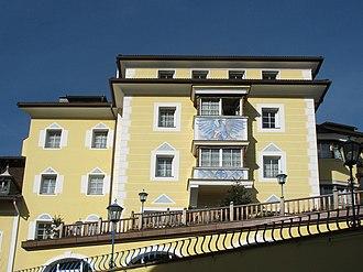 Luis Trenker - Image: Hotel Adler Holzmeister