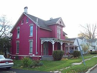 Mount Morris (village), New York - Image: House at No. 13 Grove Street Oct 09