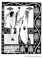 How Sir Tristram Drank of the Love Drink - by Aubrey Beardsley.jpg