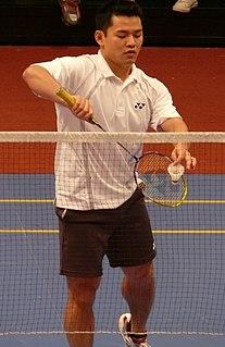Howard Bach Badminton player