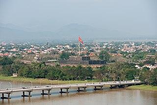 Huế City in Thua Thien-Hue, Vietnam