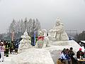 Hundeschlitten aus Schnee 3.JPG