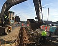 I-91 Viaduct Median Work on Liberty Street, Springfield (23670342261).jpg