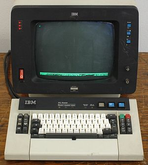 IBM 3270 - IBM 3279 Colour Display Terminal (1979)