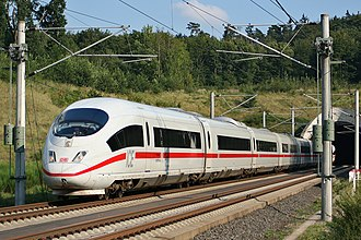 ICE 3 - ICE 3 on the Köln–Frankfurt high-speed rail line