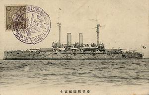 Japanese battleship Fuji