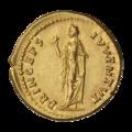 INC-3008-r Ауреус. Домициан, цезарь. Ок. 74 г. (реверс).png