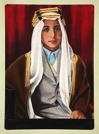 Faisal II of Iraq - King Faisal II of Iraq c.1944