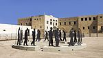 ISR-2015-Acre-Museum of the Underground Prisoners-Daily Stroll of Prisoners (sculpture) 02.jpg