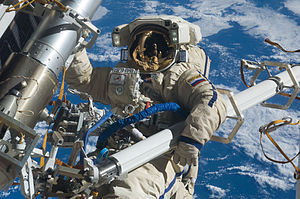 Roscosmos - Cosmonaut on EVA (February 2012)