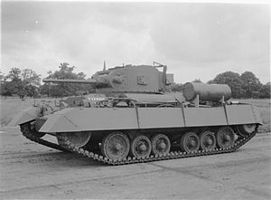 North Irish Horse - Valentine MkII tank