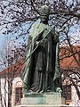 IX. Pope Innocent (without base) statue. - András Hess Square. Castle District, Budapest.JPG
