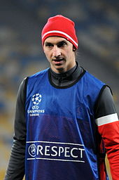 1a0c61ad3 Ibrahimović (pictured at PSG in 2012) courted controversy while at the  club