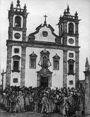 Matriz Church of Póvoa de Varzim - An early picture of the new main church.