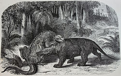 meaning of megalosaurus