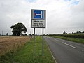 In 100 metres turn left (but only if you are on foot) - geograph.org.uk - 574843.jpg
