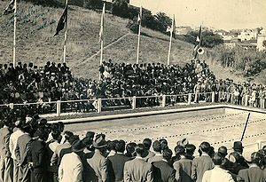 Opening ceremony - Grand opening of a swimming pool, 1941