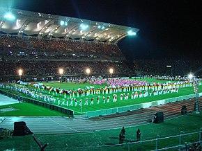 Ceremonia de inauguración de la Copa América 2007