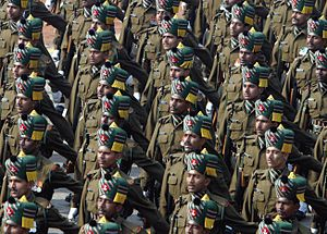 Indian nationalism - The Indian Armed Forces, over a million troops strong, is the 3rd largest army in the world