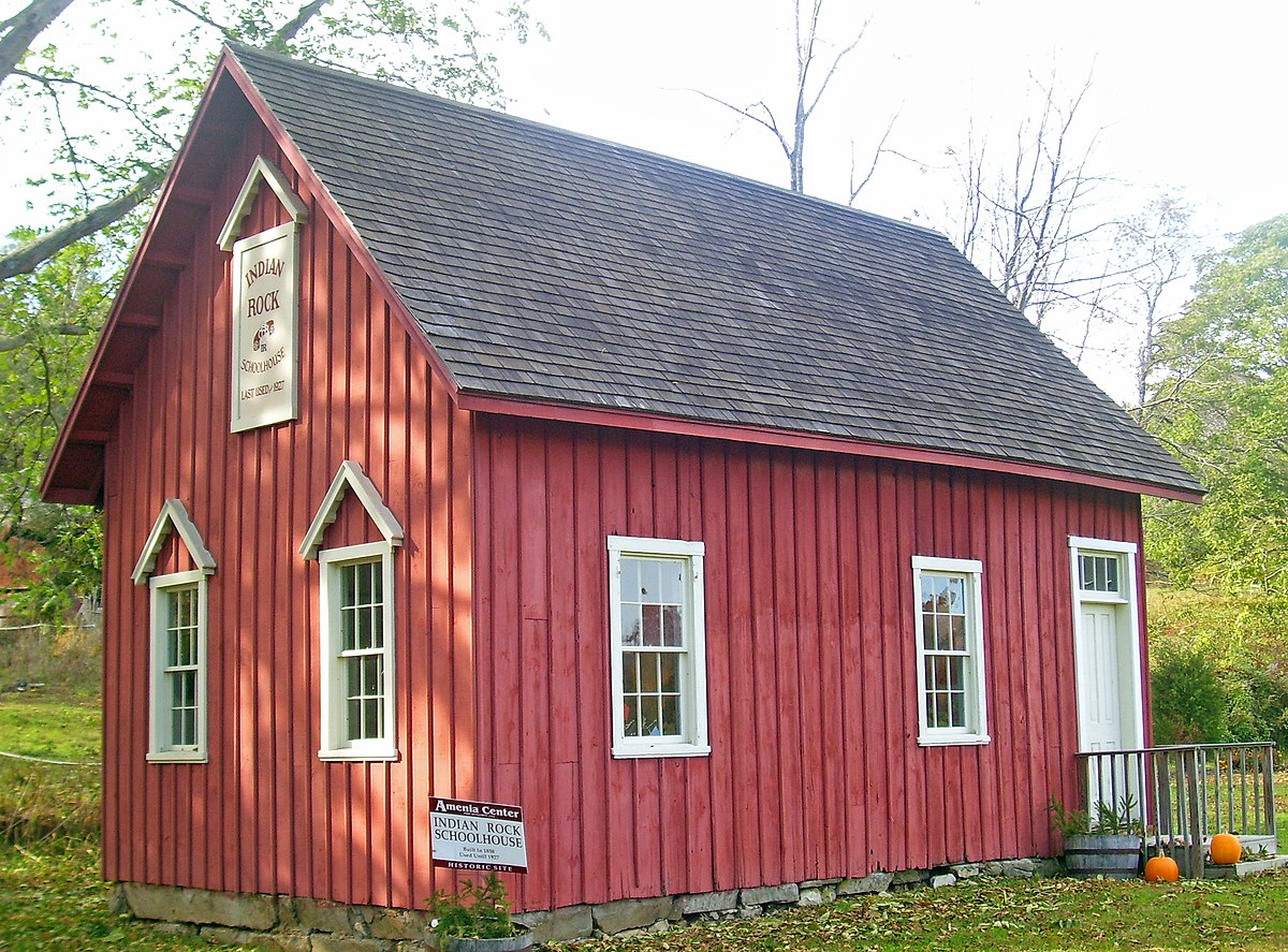 Indian Rock Schoolhouse Wikipedia