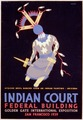 Indian court, Federal Building, Golden Gate International Exposition, San Francisco, 1939 LCCN98518787.tif