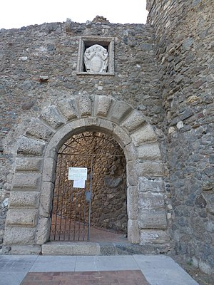 Prince of Squillace - Gate of the Norman castle in Squillace
