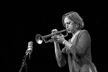 Canadian trumpeter Ingrid Jensen, North Sea Ja...