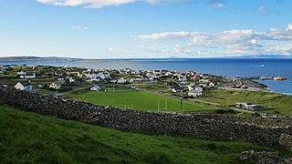 Inisheer island on the westcoast of Ireland