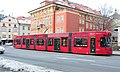 Innsbruck tram 326 on Salurner Strasse in 2012.jpg