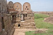 Inside Thirumayam Fort