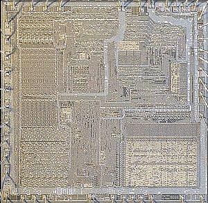 Intel 8086 - Intel 8086 CPU die image