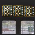 Interieur, aanzicht glas-in-loodraam - 's-Gravenhage - 20367498 - RCE.jpg