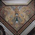 Interieur, detail van beschilderd stucwerk in de Drakenkamer - Oegstgeest - 20383694 - RCE.jpg