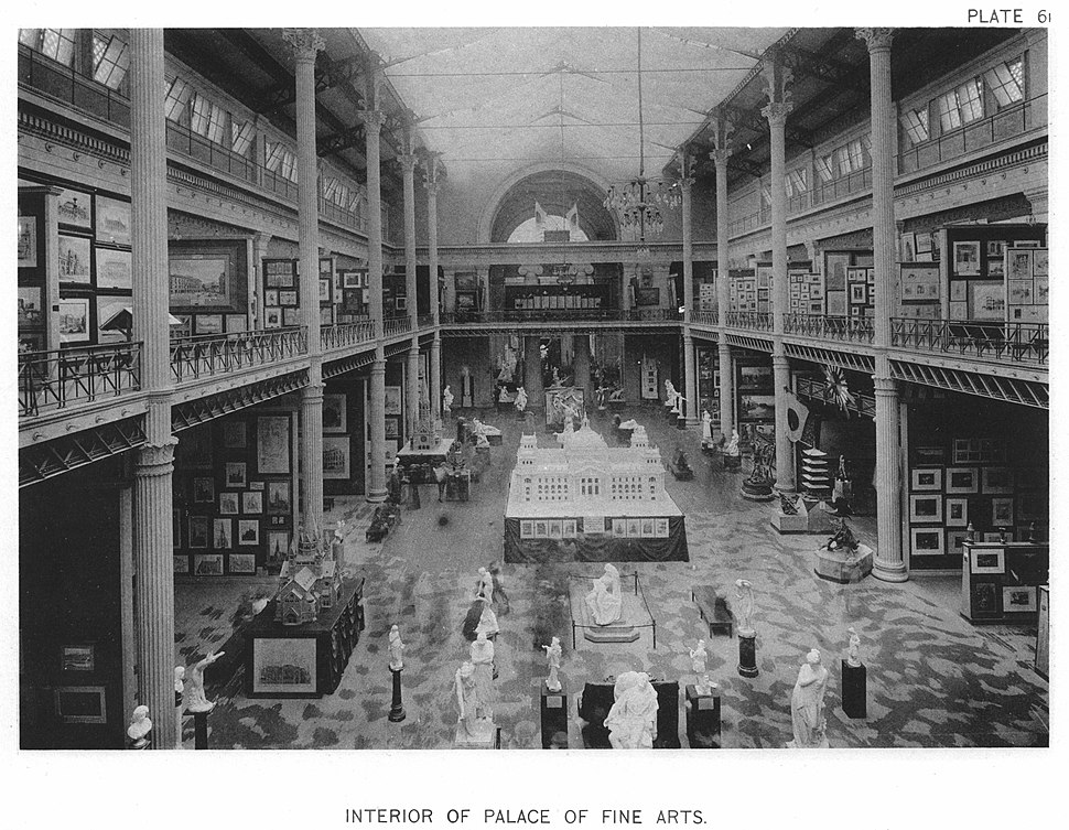 Interior Of Palace Of Fine Arts — Official Views Of The World's Columbian Exposition — 61