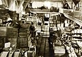 Interior of Quartermaster Warehouses, Base Hospital No.17, near Dijon, France, 1918 (30477223090).jpg
